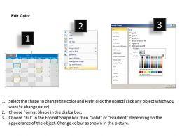 January 2013 Calendar PowerPoint Slides PPT templates
