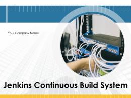 Jenkins Continuous Build System Powerpoint Presentation Slides
