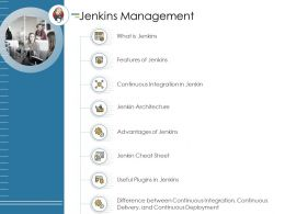 Jenkins Management Continuous Integration Ppt Powerpoint Presentation File Portfolio