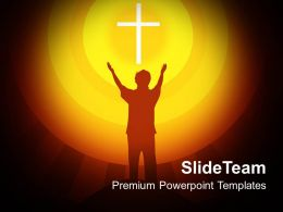 Jesus Christ Bible Powerpoint Templates Spirituality Religion Graphic Ppt Designs
