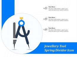 Jewellery Tool Spring Divider Icon