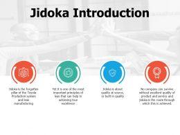 Jidoka Introduction Management Ppt Professional Guidelines