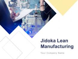 Jidoka Lean Manufacturing Powerpoint Presentation Slide
