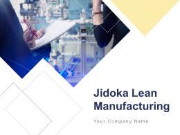 Jidoka Lean Manufacturing Powerpoint Presentation Slide