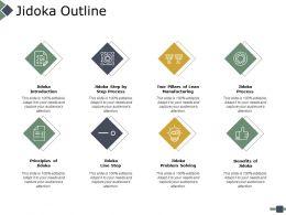 Jidoka Outline Ppt Powerpoint Presentation File Summary