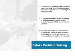 Jidoka Problem Solving Ppt Professional Guidelines