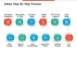 Jidoka Step By Step Process Make Changes Ppt Professional Guidelines