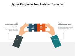 Jigsaw Design For Two Business Strategies