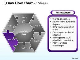 jigsaw_flowchart_6_diagram_stages_10_Slide06