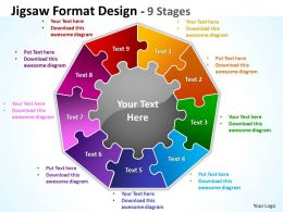 Jigsaw Format diagram Design 9 Stages 5