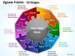 Jigsaw Frame 10 diagram Stages 4