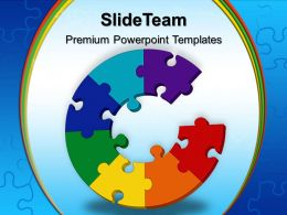 Jigsaw Ppt Powerpoint Templates Lack Of Communication Business Slides