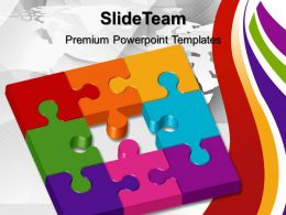 Jigsaw Ppt Powerpoint Templates Missing Puzzle Metaphor Business Slides