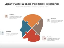 Jigsaw Puzzle Business Psychology Infographics