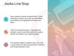 Jisoka Line Stop Business Management Planning Strategy Marketing