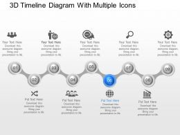 67520411 Style Circular Zig-Zag 9 Piece Powerpoint Presentation Diagram Infographic Slide