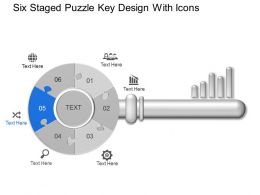 26631856 Style Puzzles Circular 6 Piece Powerpoint Presentation Diagram Infographic Slide
