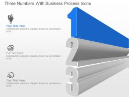 jo Three Numbers With Business Process Icons Powerpoint Template
