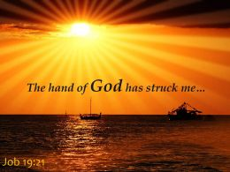 job_19_21_the_hand_of_god_has_struck_me_powerpoint_church_sermon_Slide01