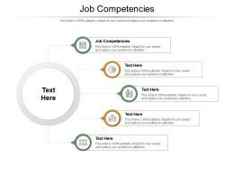 Job Competencies Ppt Powerpoint Presentation Ideas Picture Cpb