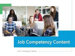 Job Competency Content Peer Assessment Risk Management Organization Level
