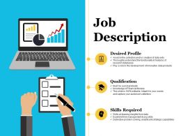 Job Description Powerpoint Slide