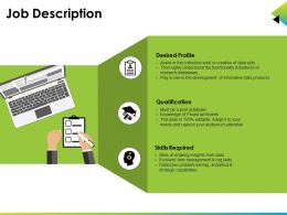 Job Description Powerpoint Slide Background Designs