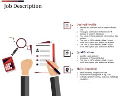 Job Description Powerpoint Slide Designs