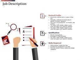 Job Description Powerpoint Slide Designs