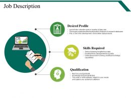 Job Description Powerpoint Slide Designs Download