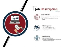 Job Description Powerpoint Slide Presentation Guidelines