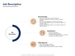Job Description Ppt Powerpoint Presentation Designs Download