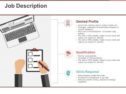 Job Description Ppt Templates