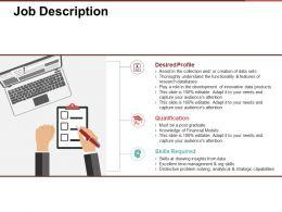 Job Description Presentation Pictures