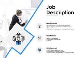 Job Description Qualification Ppt Powerpoint Presentation Pictures Gridlines