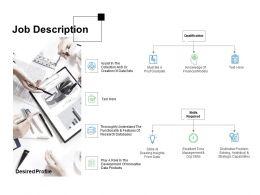 Job Description Qualification Ppt Powerpoint Presentation Professional Example File