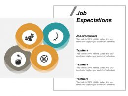 Job Expectations Ppt Powerpoint Presentation Icon Visual Aids Cpb