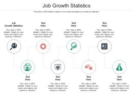 Job Growth Statistics Ppt Powerpoint Presentation Pictures Slide Cpb