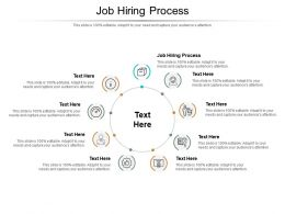 Job Hiring Process Ppt Powerpoint Presentation Outline Clipart Images Cpb