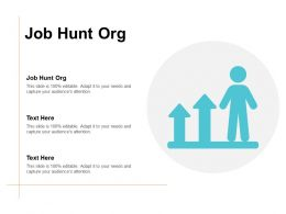 Job Hunt Org Ppt Powerpoint Presentation Gallery Outline Cpb