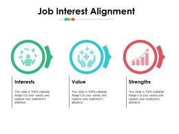 Job Interest Alignment Ppt Infographics Good