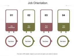 Job Orientation Ppt Powerpoint Presentation Styles Professional Cpb