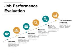 Job Performance Evaluation Ppt Powerpoint Presentation Inspiration Information Cpb