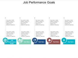 Job Performance Goals Ppt Powerpoint Presentation Icon Layouts Cpb