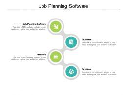 Job Planning Software Ppt Powerpoint Presentation Layouts Portfolio Cpb