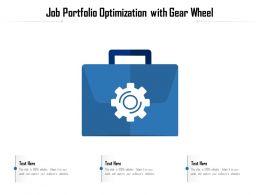 Job Portfolio Optimization With Gear Wheel