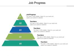 Job Progress Ppt Powerpoint Presentation Infographic Template Slide Download Cpb