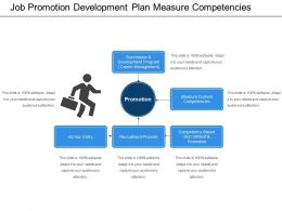 Job Promotion Development Plan Measure Competencies