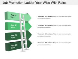 Job Promotion Ladder Year Wise With Roles