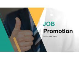Job Promotion Powerpoint Presentation Slides